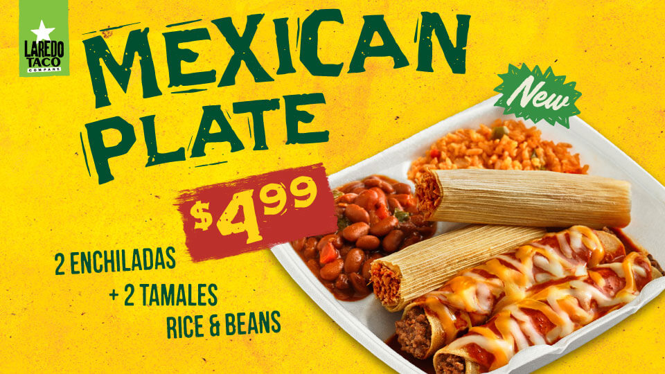 Mexican Plate - $4.99